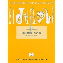 Maurice Faillenot Pastorale variée