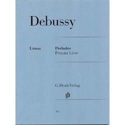 DEBUSSY PRELUDES VOL1