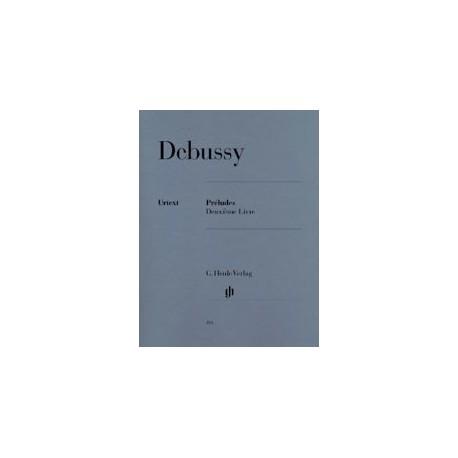 DEBUSSY PRELUDES VOL2