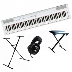 YAMAHA P125 WHITE PACK