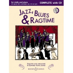 Jazz, Blues & Ragtime (New Edition) Complete Edition Editeur: Huws Jones, Edward