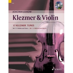 Klezmer & Violin 17 Klezmer Tunes Compositeur: Johow, Joachim