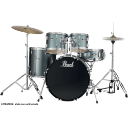 "PEARL ROADSHOW 22"" 5 FUT CHARCOAL METALLIC"