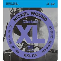 D ADDARIO Electriques EXL115 Blues-Jazz-Rock 11/49