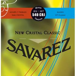 SAVAREZ 540 CRJ jeu de Cordes classique Rouge/Bleu