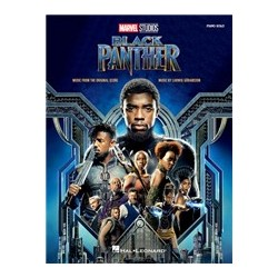 Ludwig Goransson: Black Panther - Music From The Marvel Studios Motion Picture Score Piano Livre