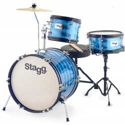 "STAGG JR3 8"" 10"" 16"" BATTERIE JUNIOR BLEU"