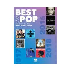 Best Of Pop 2016-2018 PIANO VOCAL GUITARE