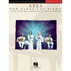 The Phillip Keveren Series: ABBA For Classical Piano - Hal Leonard