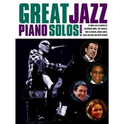 Great Jazz Piano Solos - Book 2