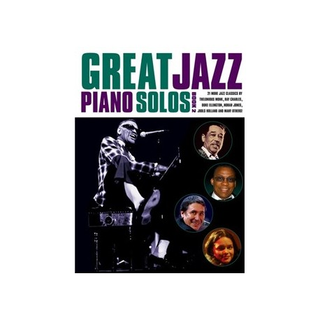 Great Jazz Piano Solos - Book 2