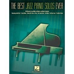 The Best Jazz Piano Solos Ever 80 Classics - Hal Leonard