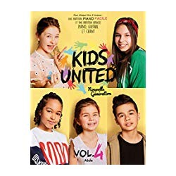 Kids United Nouvelle Génération Volume 4 Piano facile + PVG