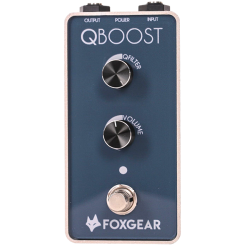FOX GEAR QBOOST PEDALE EGALISEUR GUITARE