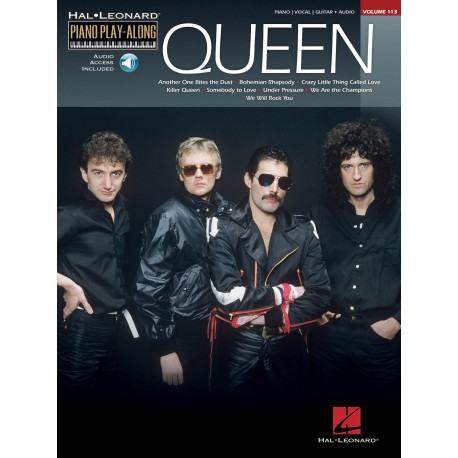 Queen Piano Vocal Guitar Audio