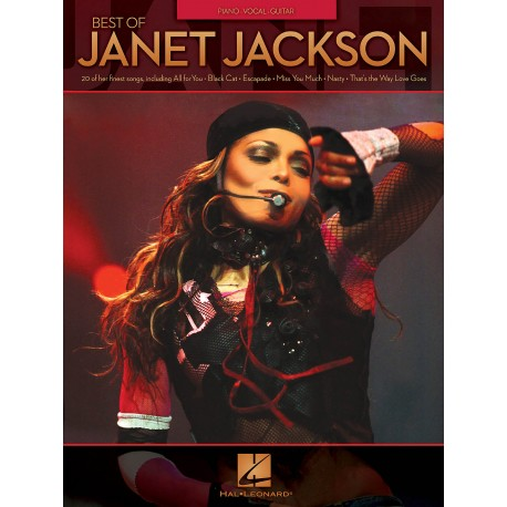 Best Of Janet Jackson Piano Vocal Guitar