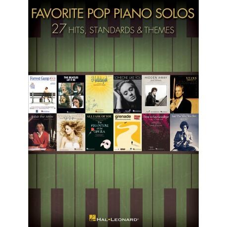 Favorite Pop Piano Solos 27 HITS