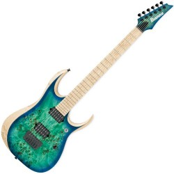 GUITARE IBANEZ RGDIX6MPB-SBB IRON LABEL - SURREAL BLUE BURST