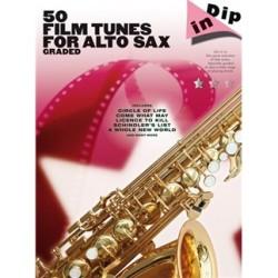 PARTITION 50 FILM TUNES FOR ALTO SAX