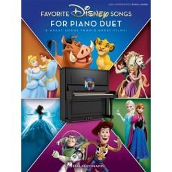FAVORITE DISNEY SONGS FOR PIANO DUET