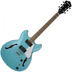 GUITARE ELECTRIQUE HOLLOW BODY IBANEZ AS63-MTB - MINT BLUE