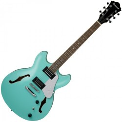 GUITARE ELECTRIQUE HOLLOW BODY IBANEZ AS63-SFG - SEA FOAM GREEN