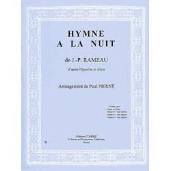 RAMEAU JEAN PHILIPPE L'HYMNE A LA NUIT