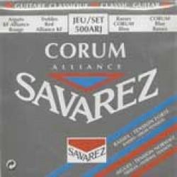 JEU SAVAREZ Cordes ALLIANCE CORUM ROUGE/BLEU