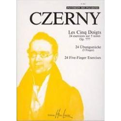 Czerny : Les 5 Doigts Op.777 - Partitions