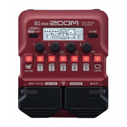ZOOM B1 FOUR PEDALE BASS MULTI EFFET