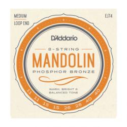 JEU D ADDARIO Cordes MANDOLINE P/BRONZE BLUEGRASS 11-15-26-40