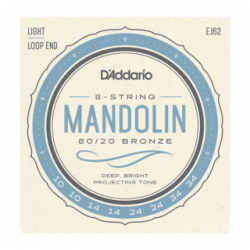 JEU D ADDARIO - Autres Cordes - MANDOLINE BRONZE 80/20 10-14-24-34