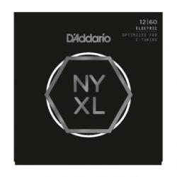 D'ADDARIO CORDES ELECTRIQUE NYXL 12-60