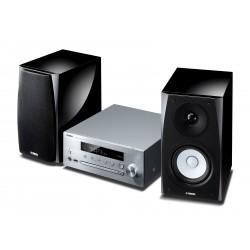 YAMAHA MICRO CHAINE MusicCast MCR N570D SILVER