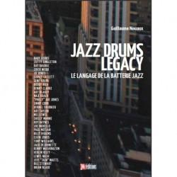 Nouaux jazz drums legacy langage batterie jazz