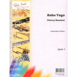 BOUCHET Thierry Baba yaga Clarinette et piano