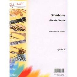 CIESLA Alexis Shalom Clarinette et piano