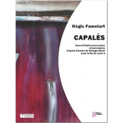 FAMELART Régis Capalès pour percussion et piano