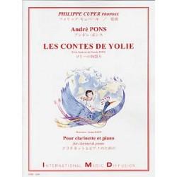 PONS André Les Contes de YolieClarinette et piano