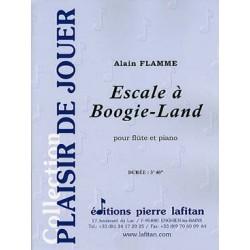 FLAMME Alain Escale à Boogie-Land Flûte traversière et piano