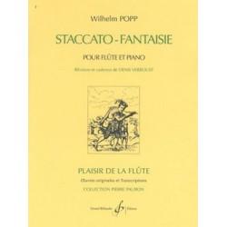 Wilhelm Popp Staccato Fantaisie