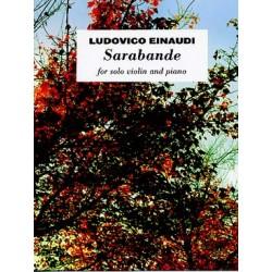 EINAUDI Ludovico Sarabande Violon et piano
