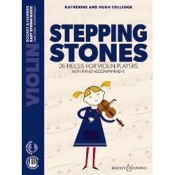 Katherine Hugue Colledge Stepping Stones Violon et piano