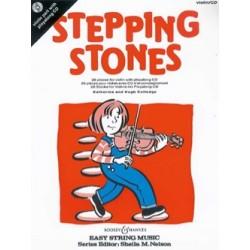 Stepping Stones Pour Violon Avec CD Nelson Sheila Katherine et Hugh COLLEDGE