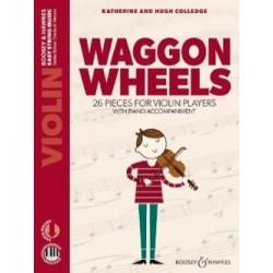 Waggon Wheels 26 Pièces avec accompagnement de Piano NOUVELLE EDITION