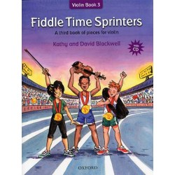 BLACKWELL Fiddle time recueils Vol. 3 : Fiddle time sprinters avec cd