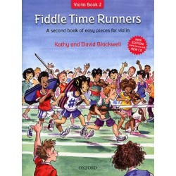 BLACKWELL Fiddle time recueils Vol. 2 : Fiddle time runners avec cd