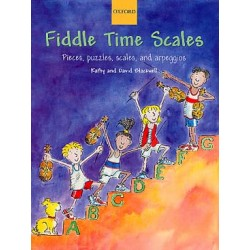 BLACKWELL Fiddle time scale violon