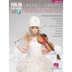 Lindsey Stirling Violin Play-Along Volume 72 - Warmer in the Winter