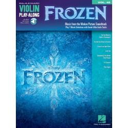 Disney Walt / Anderson-Lopez Kristen / Lopez Robert Violin Play-Along volume 48 La reine des neiges